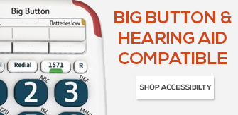 Big Button & Hearing Aid Compatible